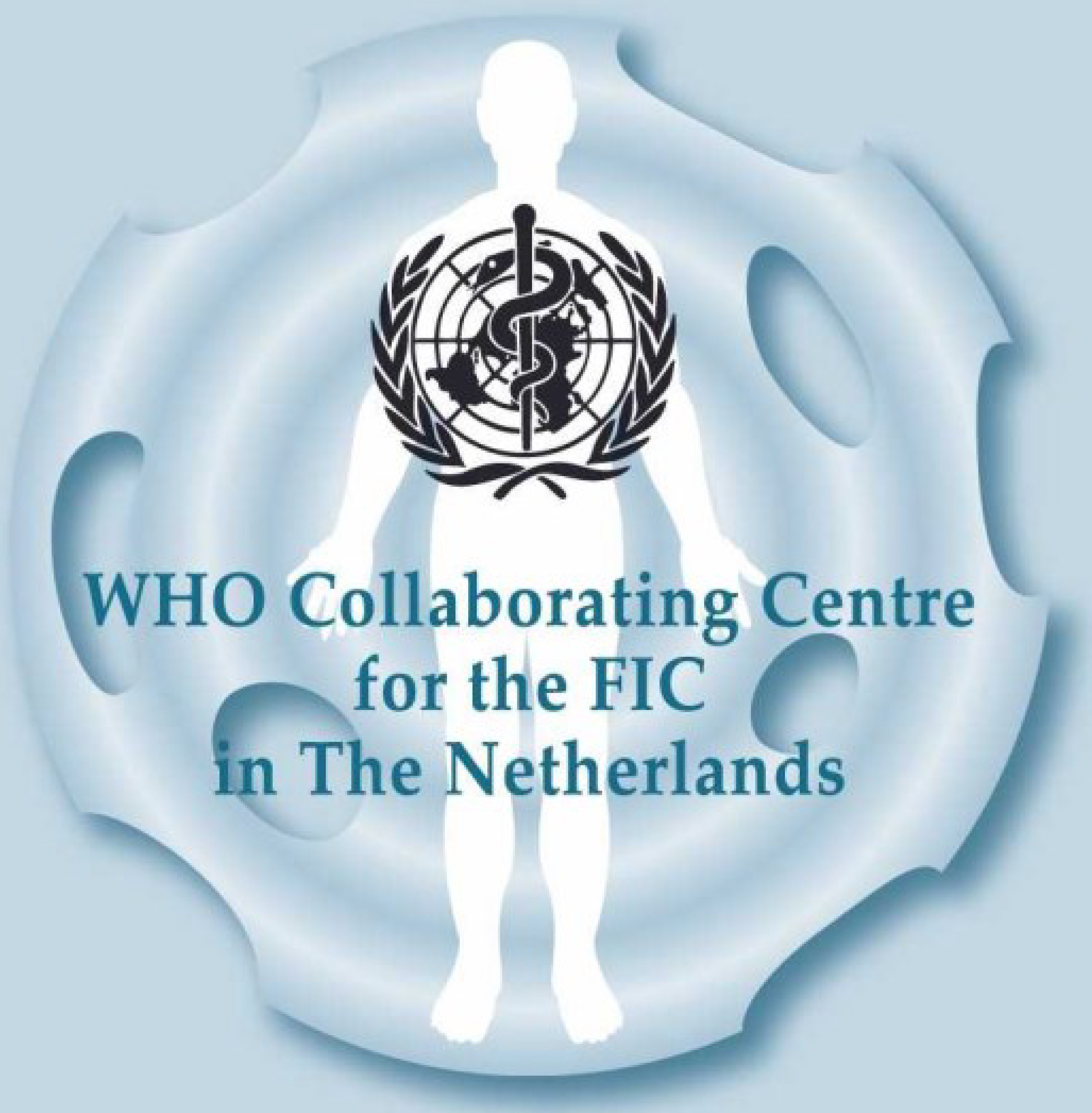 Logo WHO collaborating centre for the FIC in the Netherlands